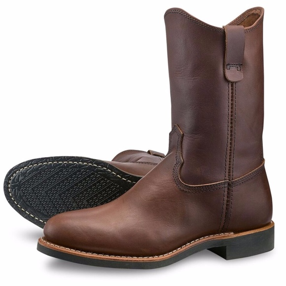 Red Wing Pecos Amber Harness Leather